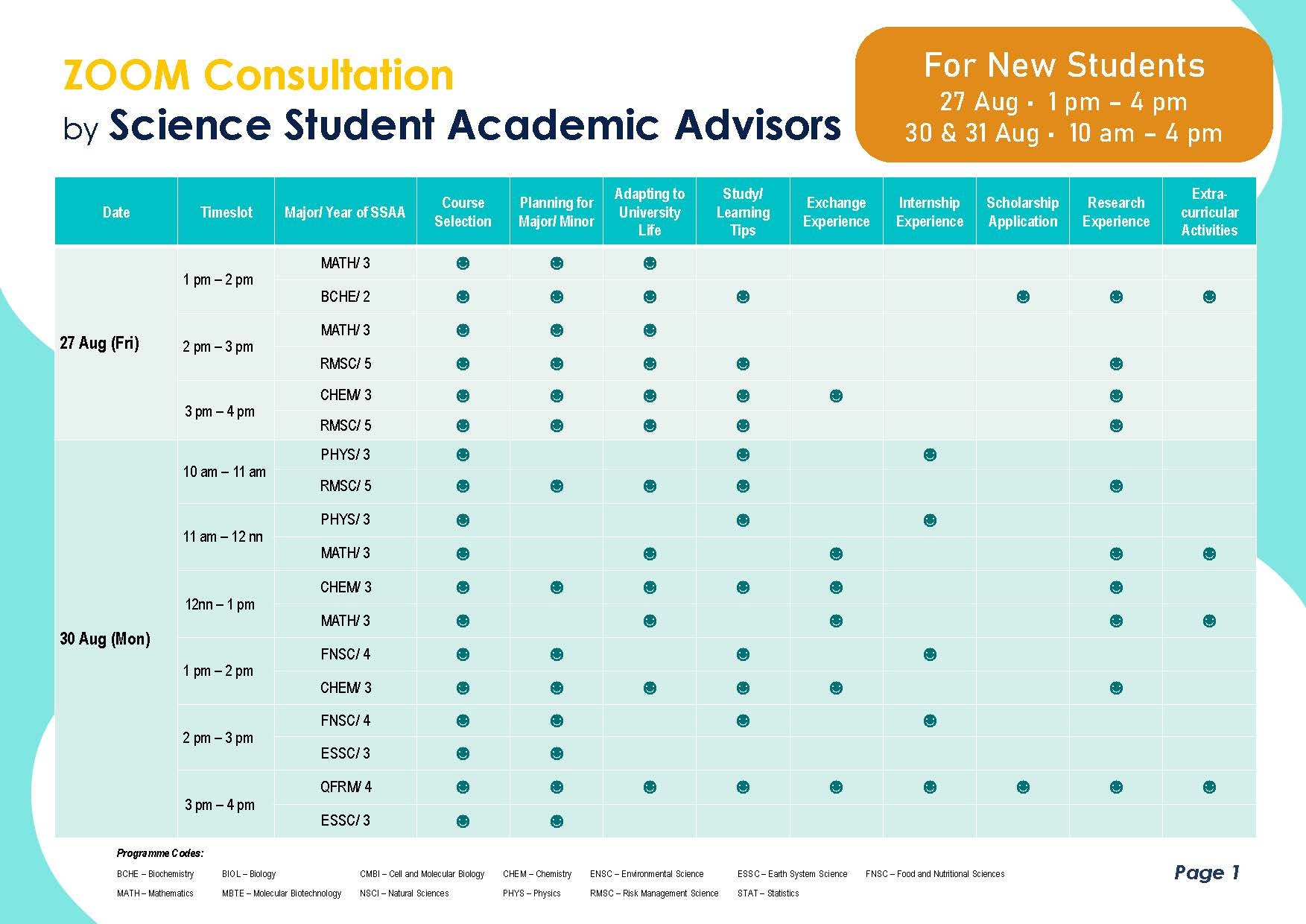 SSAA Poster 2021 22 T1 for new students without names Page 2